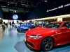 Alfa Romeo Giulia Quadrifoglio - foto dello stand al Salone di Francoforte 2015