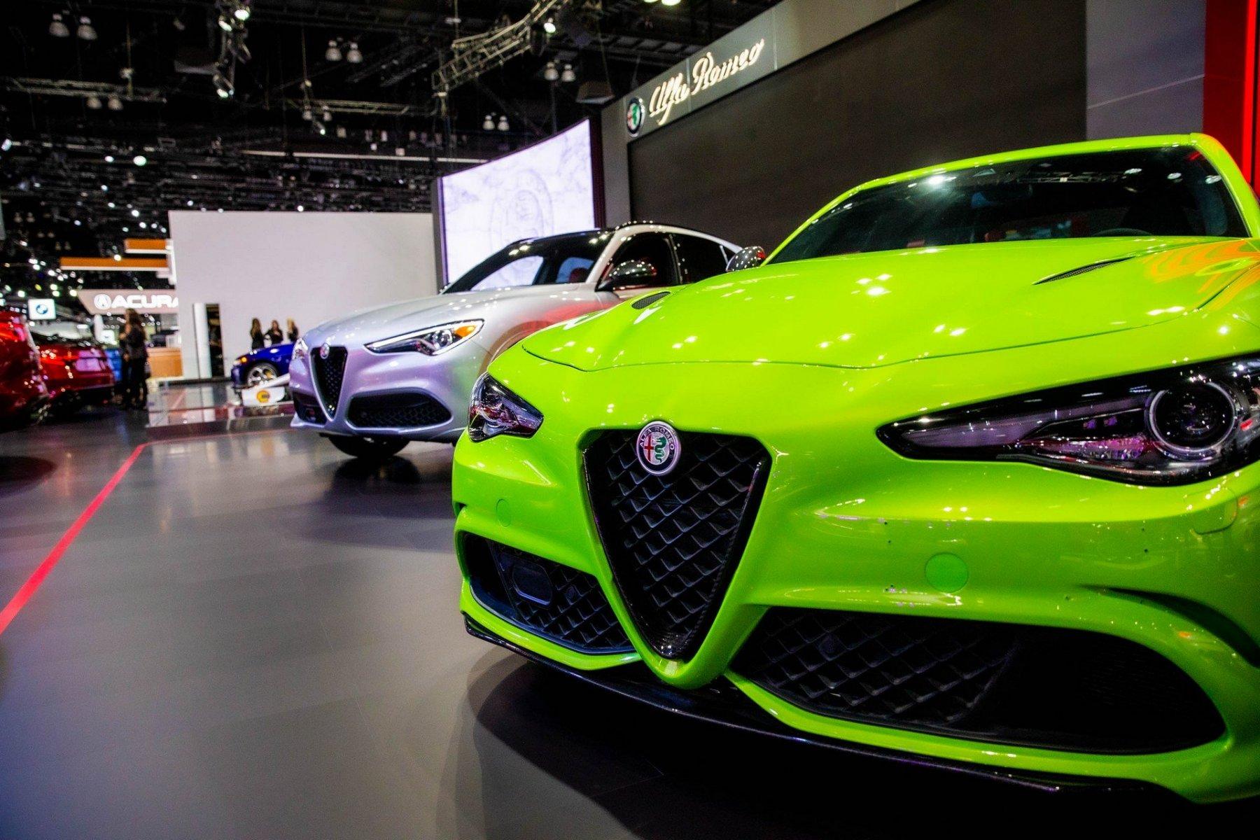 Alfa Romeo Giulia Quadrifoglio Green Neon
