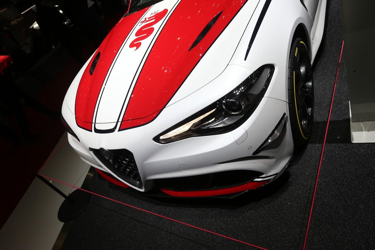 Alfa Romeo Giulia Racing - Salone di Ginevra 2019