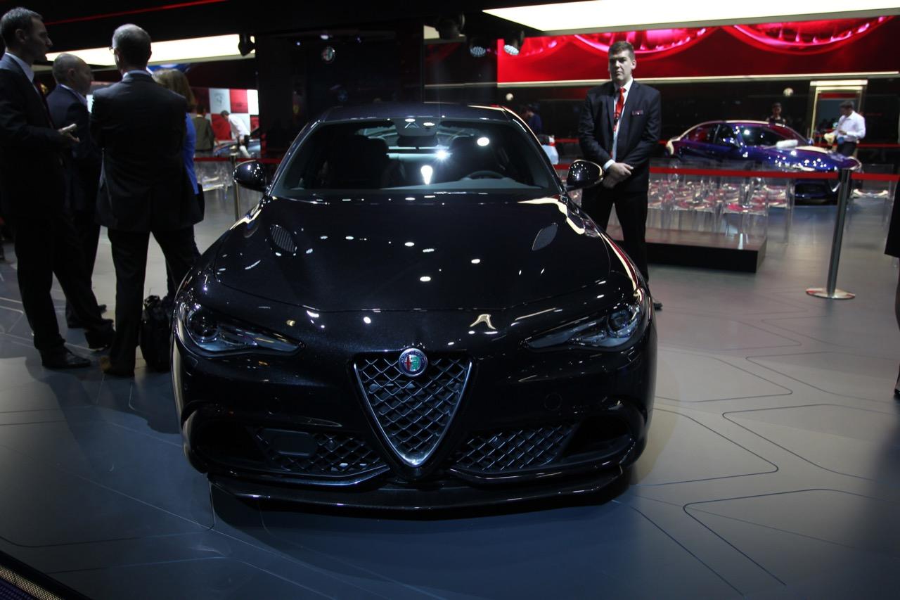 Alfa Romeo Giulia - Salone di Francoforte 2015
