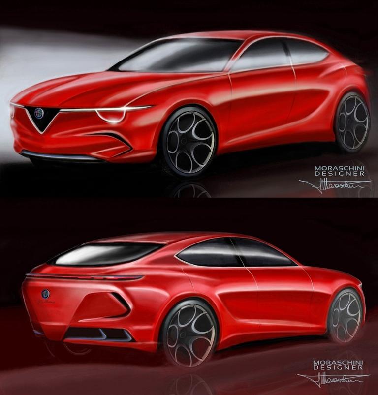 Alfa Romeo Giulietta 2023 - Render