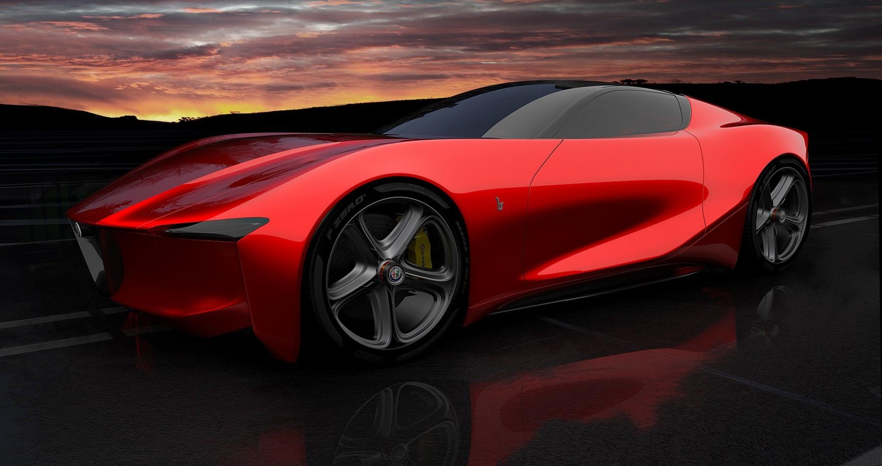 Alfa Romeo Montreal 2020 - Render