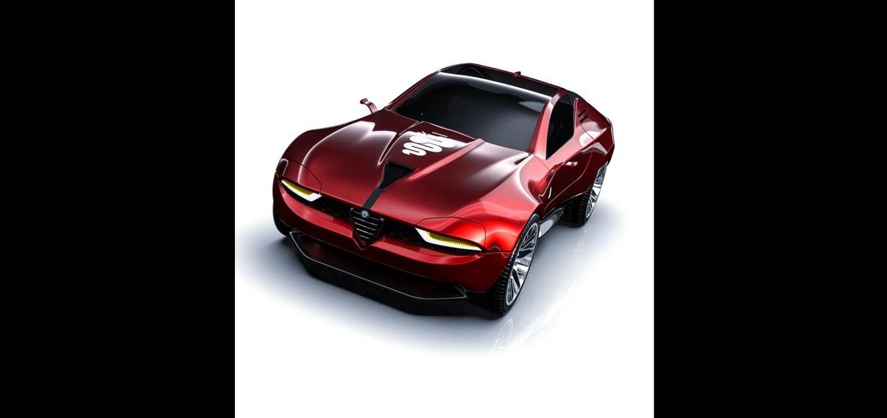 Alfa Romeo Montreal RENDER 2020