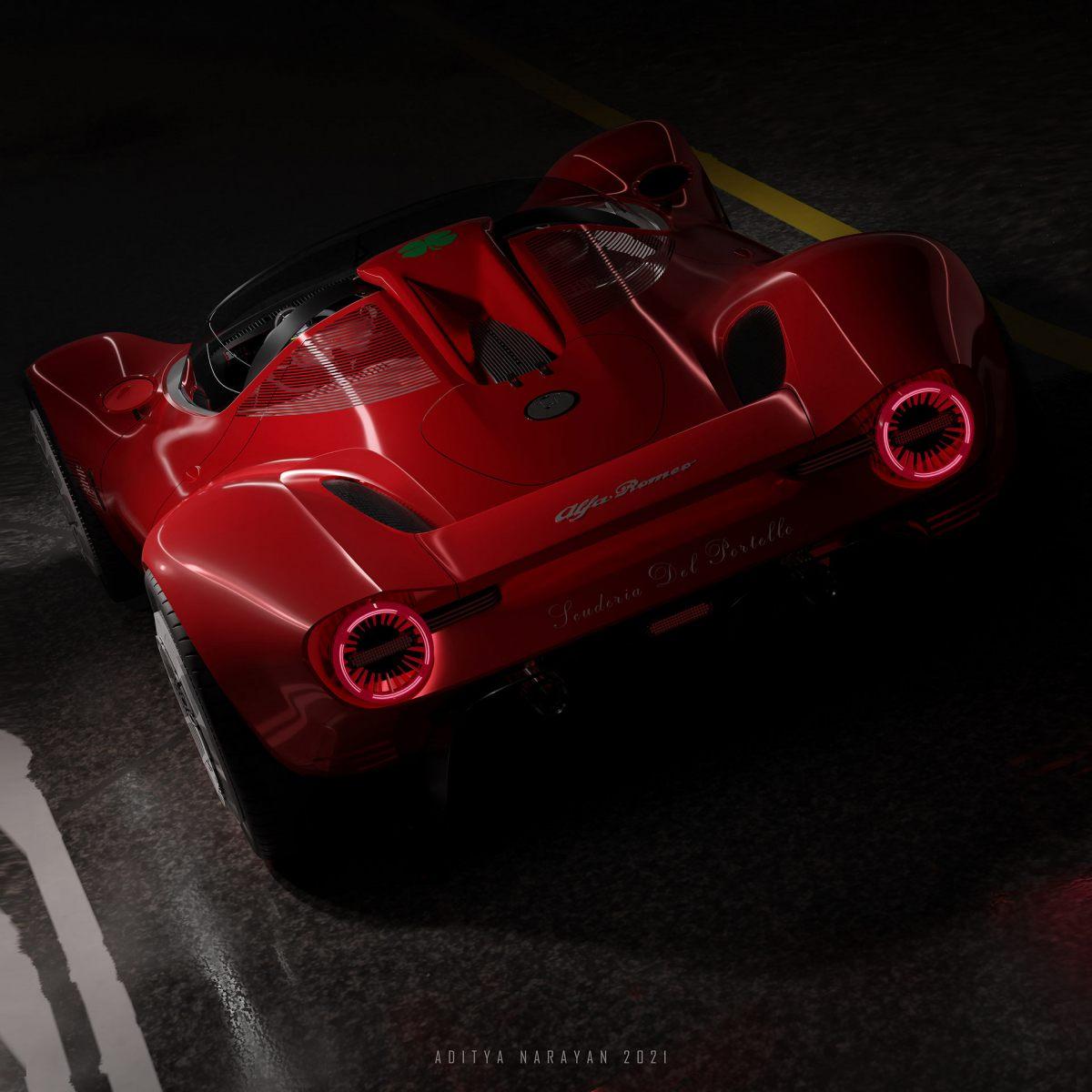 Alfa Romeo Periscopica - Render