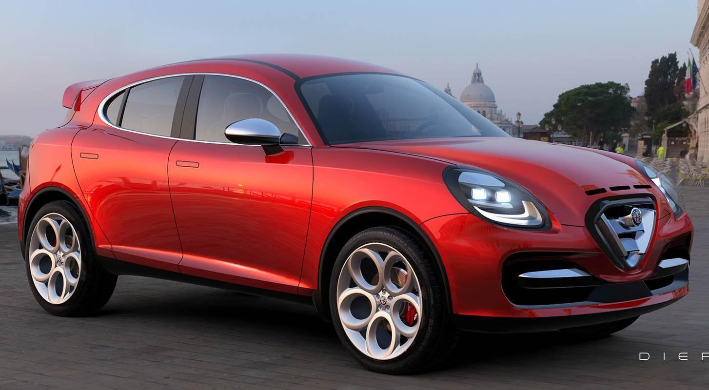 Alfa Romeo Stella - Rendering