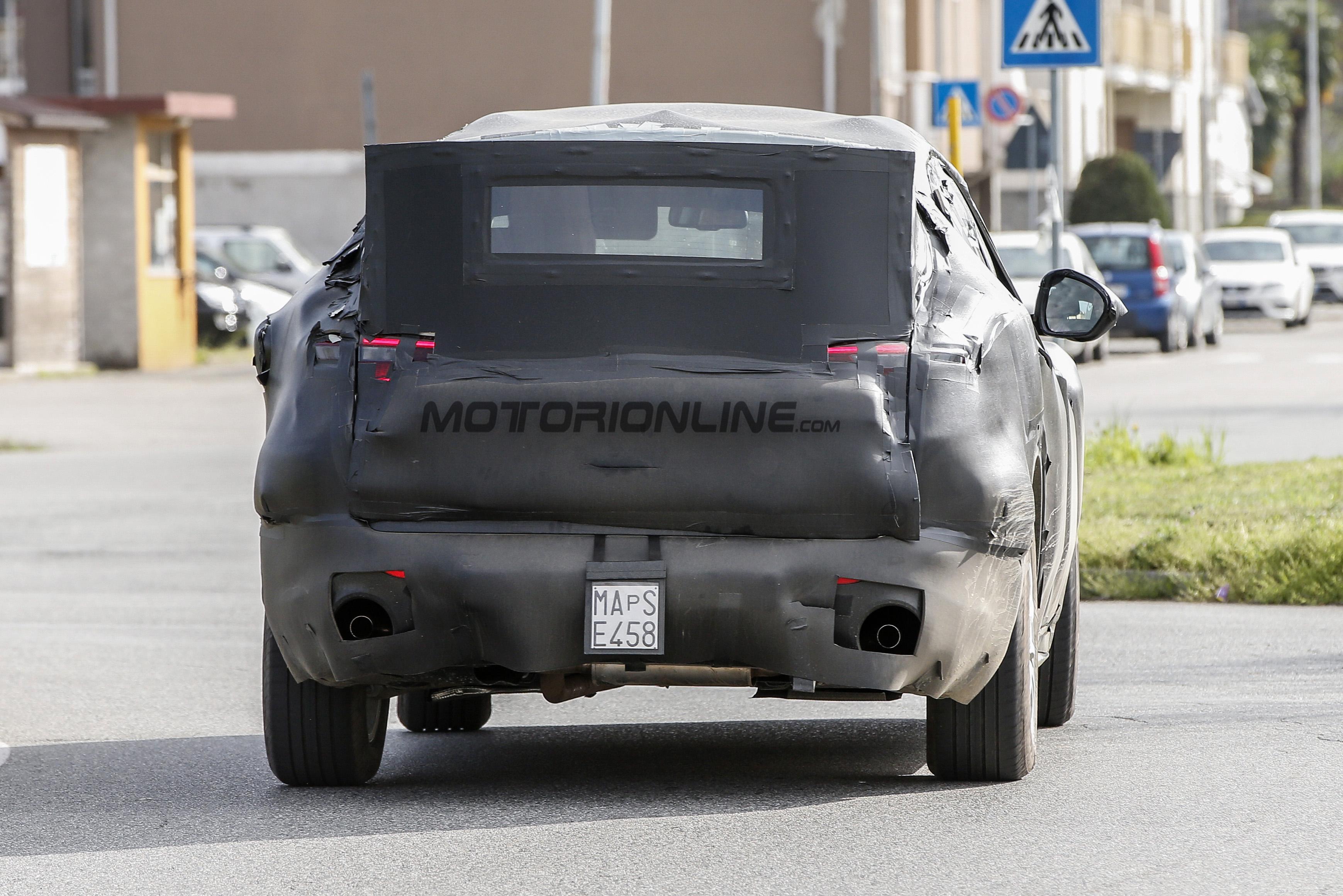 Alfa Romeo Stelvio - Foto spia 08-04-2016
