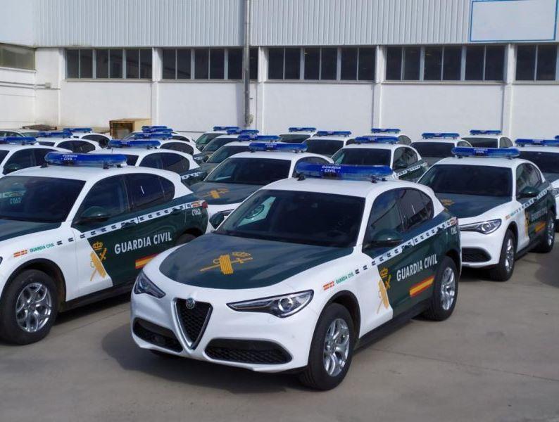 Alfa Romeo Stelvio - Guardia Civil 2021