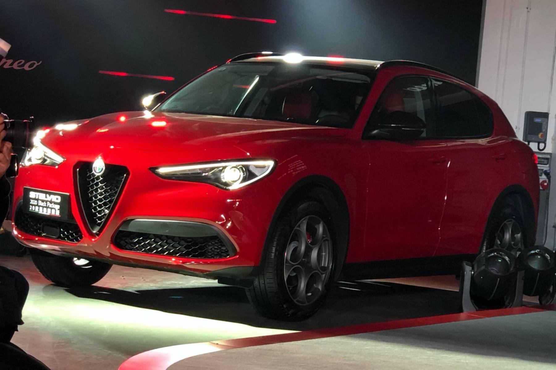 Alfa Romeo Stelvio MY 2020 - Versione cinese