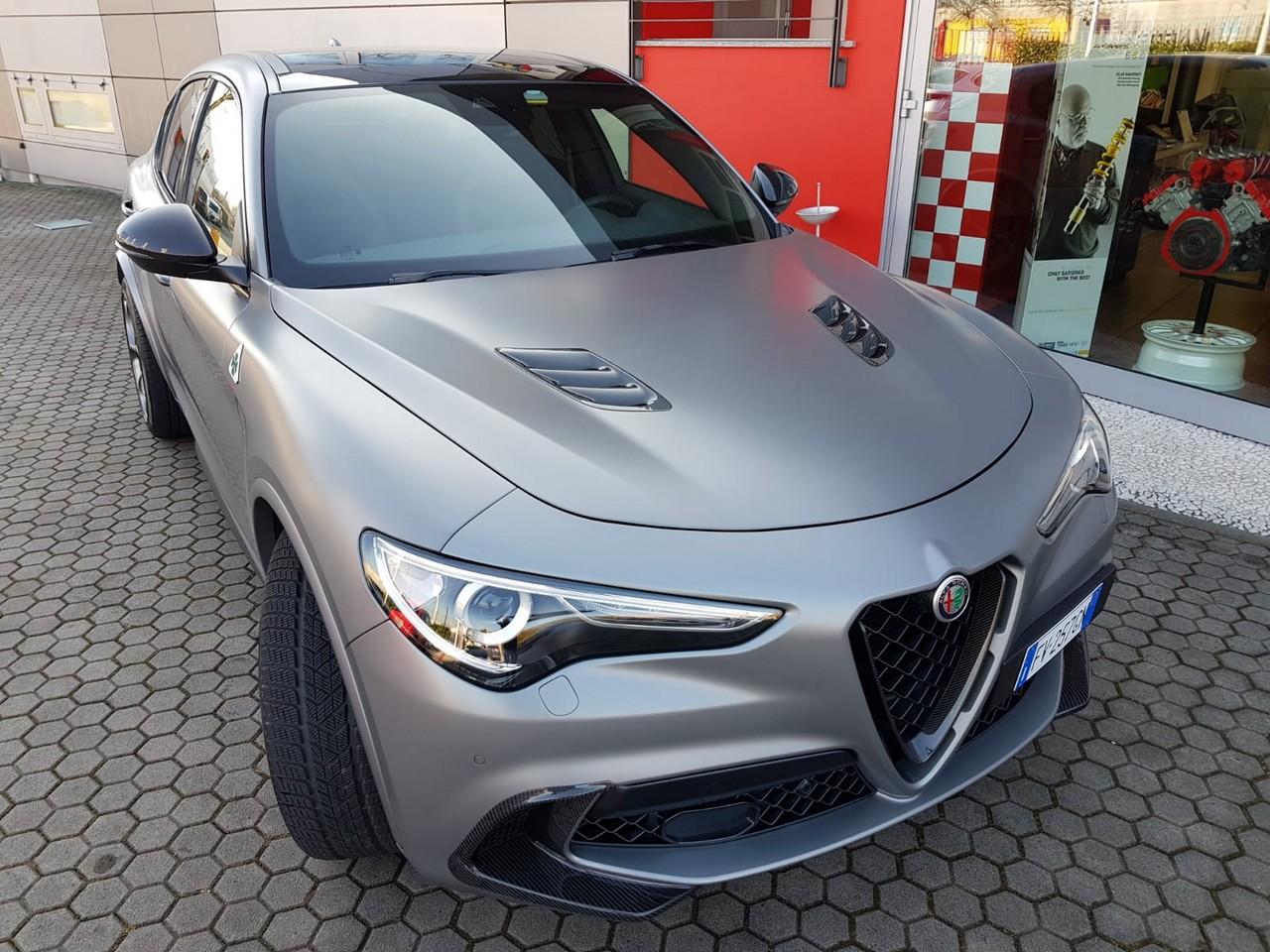 Alfa Romeo Stelvio Quadrifoglio NRING Romeo Ferraris