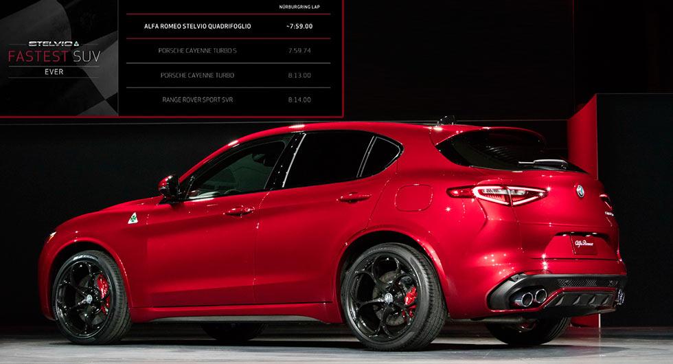 Alfa Romeo Stelvio Quadrifoglio - Salone di Los Angeles ...