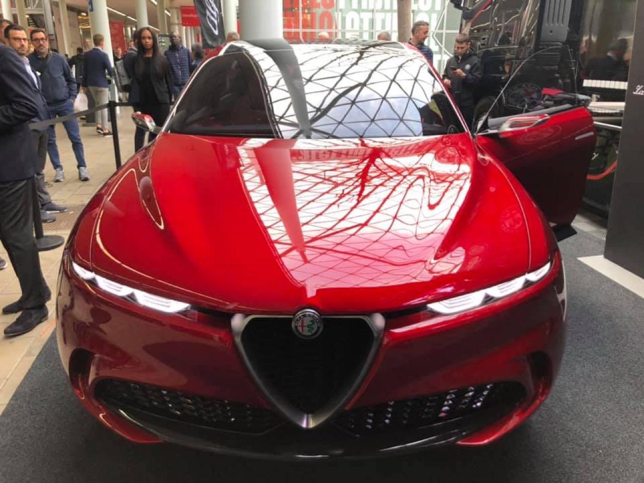 Alfa Romeo Tonale concept - Salone del Mobile.Milano 2019