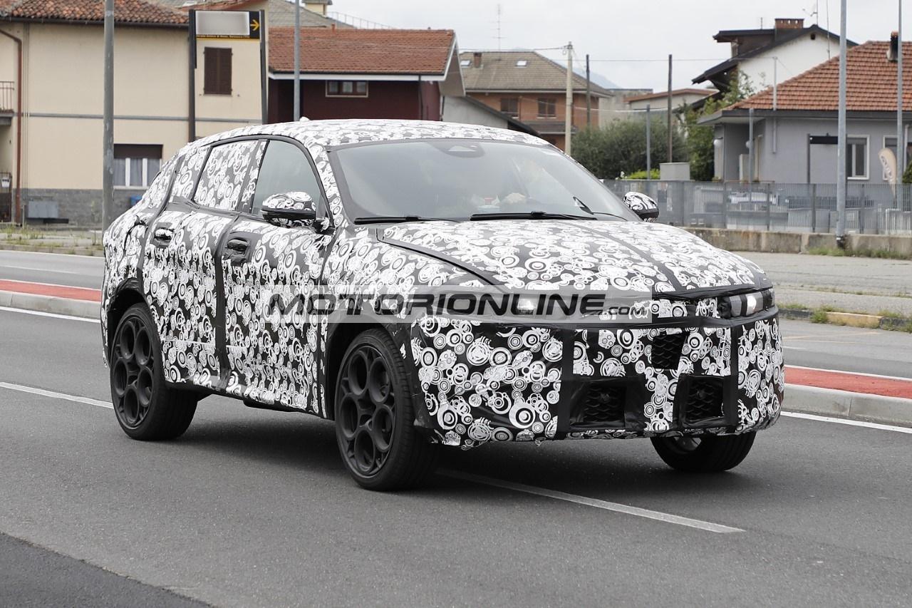 Alfa Romeo Tonale - Foto spia 9-8-2021