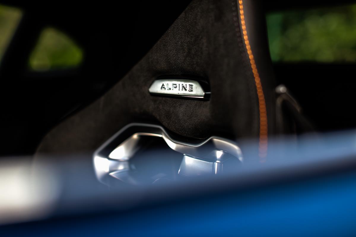 Alpine A110 Trackside
