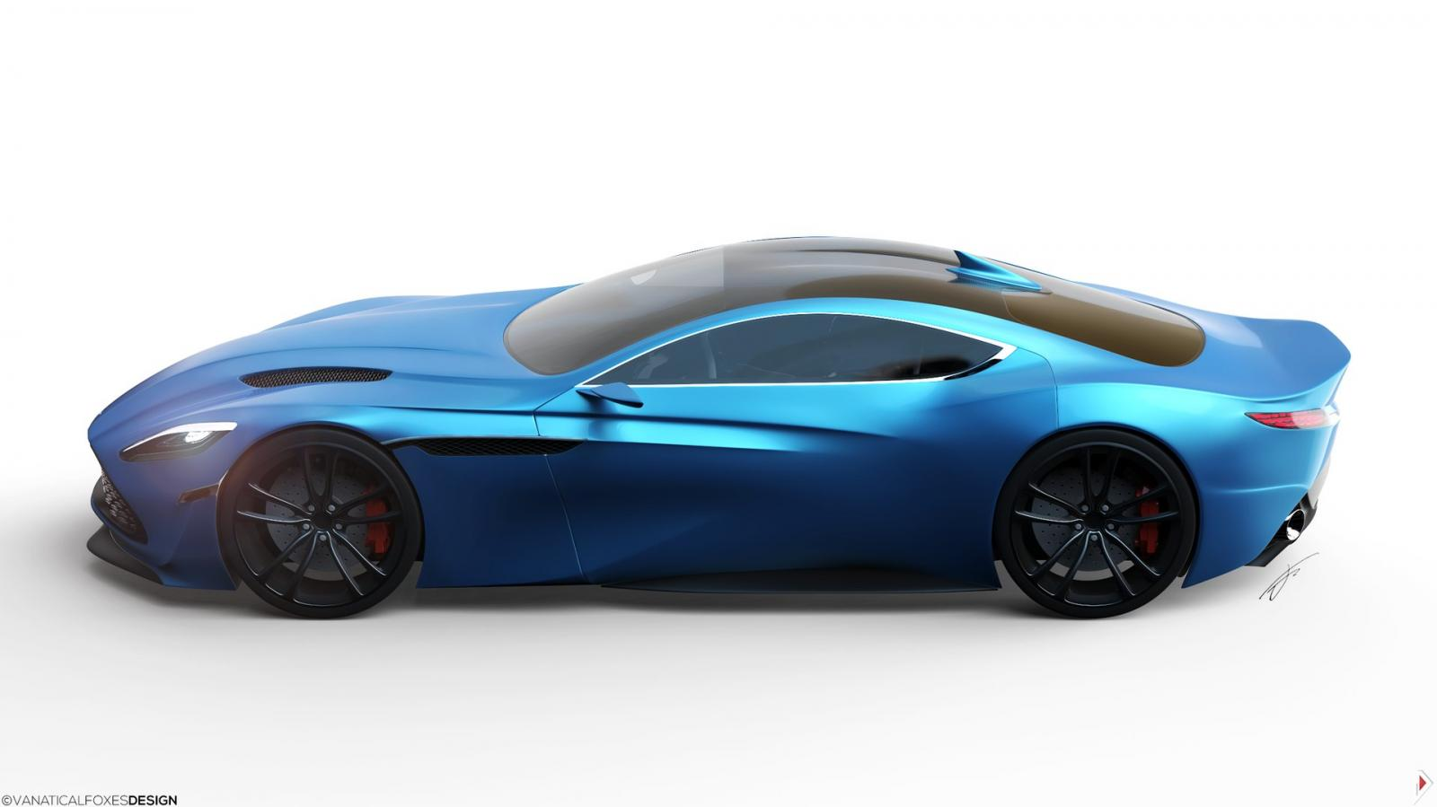 ASTON MARTIN DB11 Concept Design - Rendering