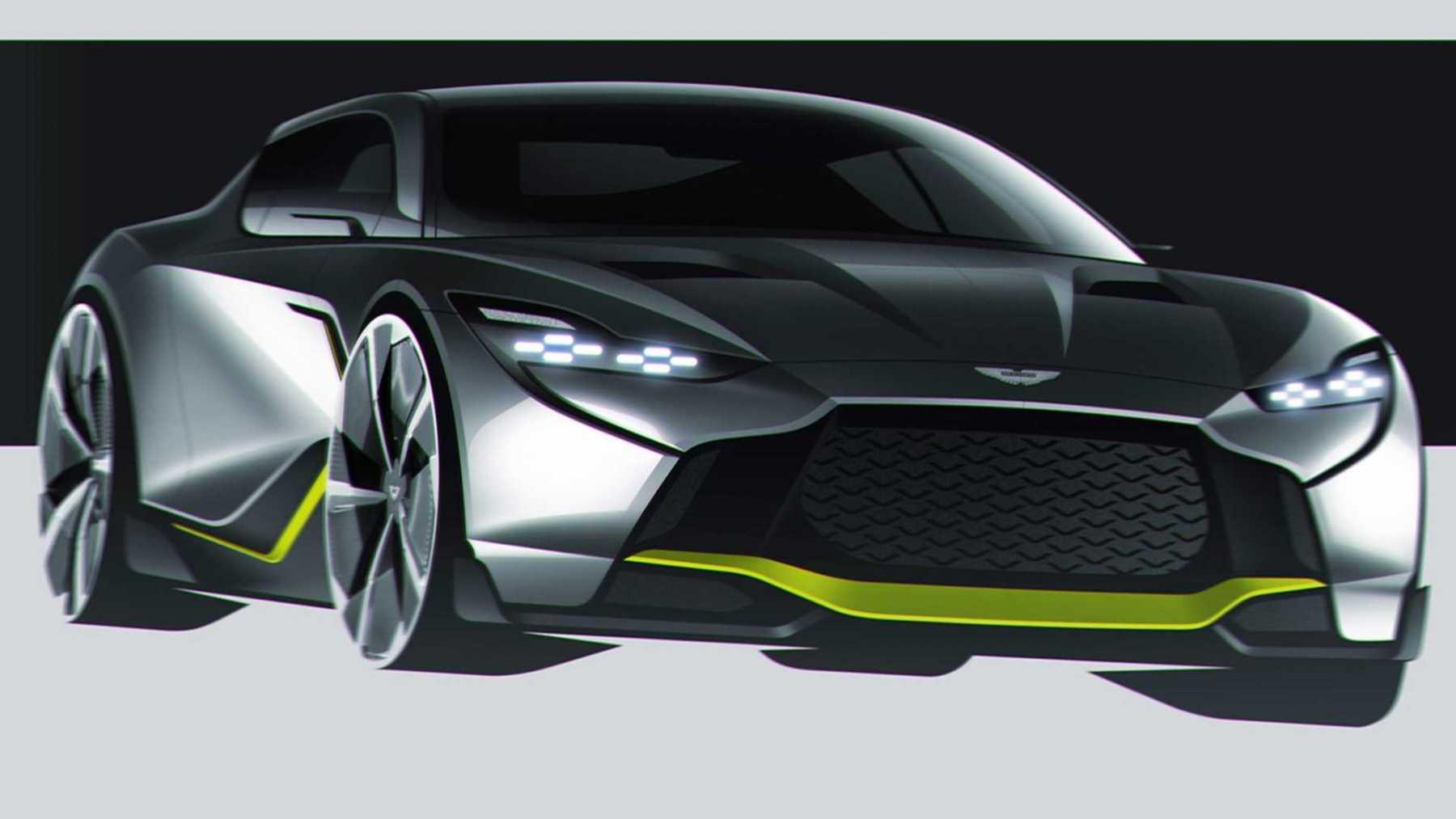 Aston Martin DB12 AMR - Rendering