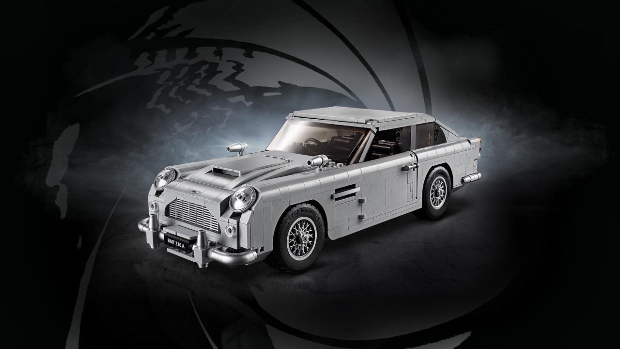 Aston Martin DB5 Lego