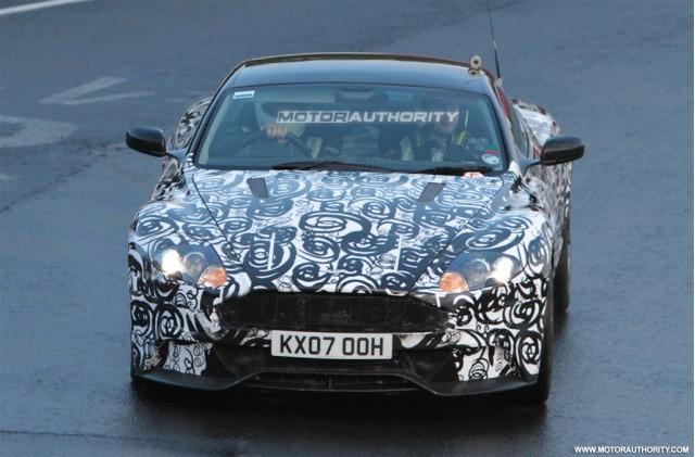 Aston Martin DBS spy