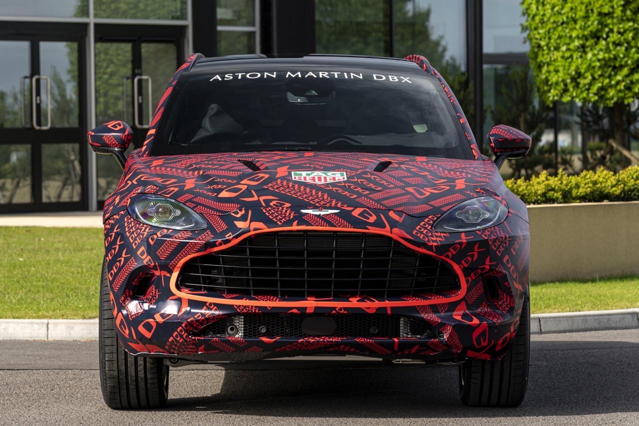 Aston Martin DBX - Pre-produzione