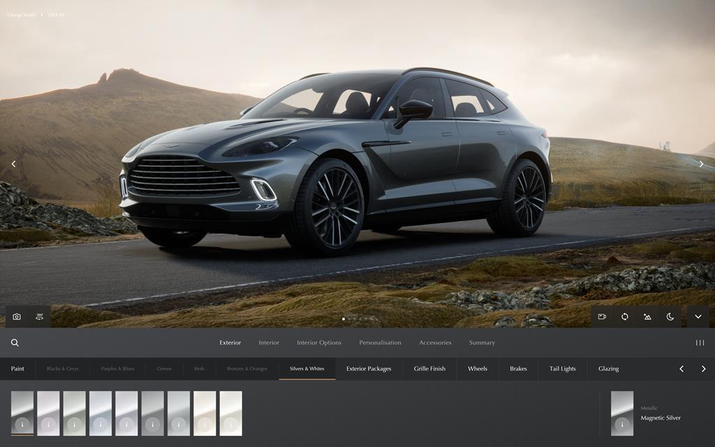Aston Martin - Nuovo configuratore