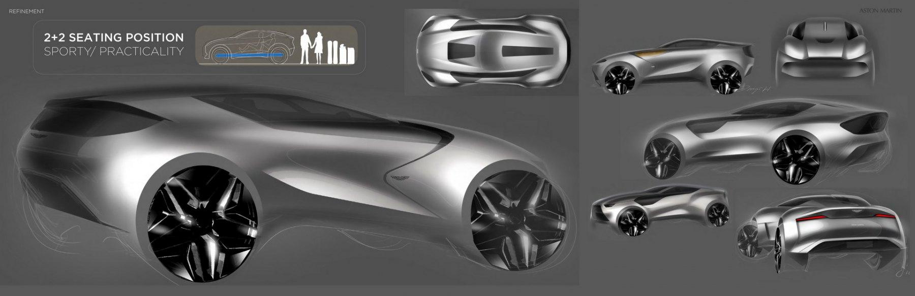 Aston Martin SUV 2030 - Render