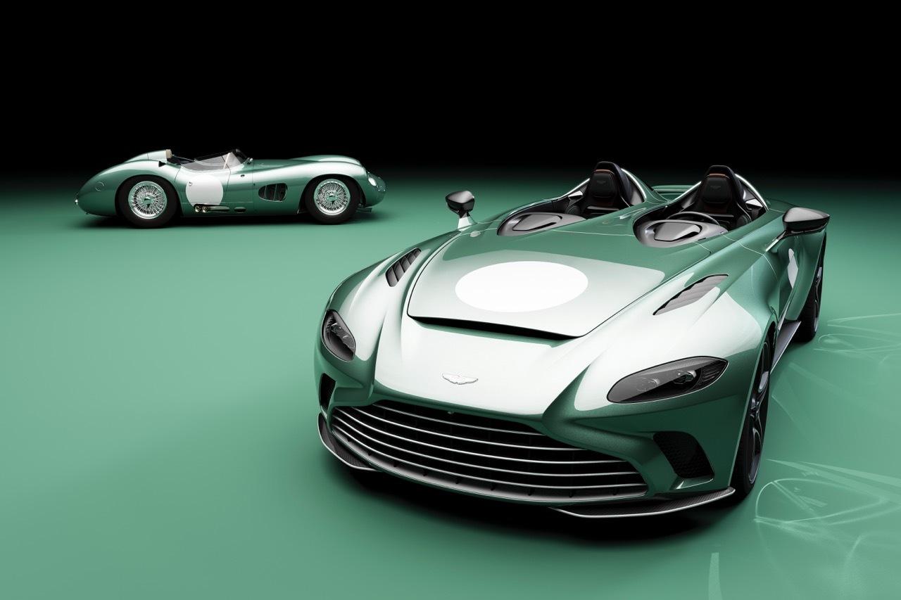 Aston Martin V12 Speedster DBR1 - Foto ufficiali