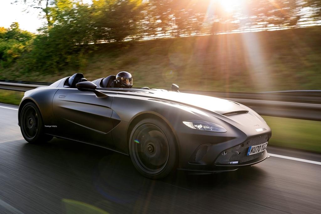 Aston Martin V12 Speedster - Prototipo