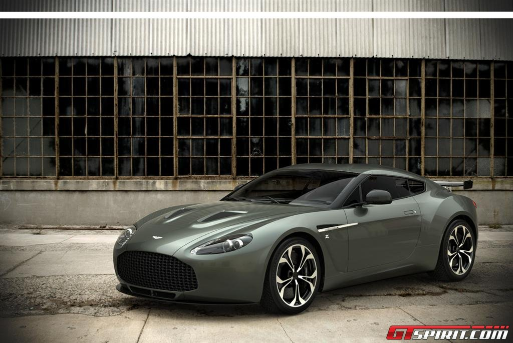 Aston Martin V12 Zagato - Anteprima foto ufficiali
