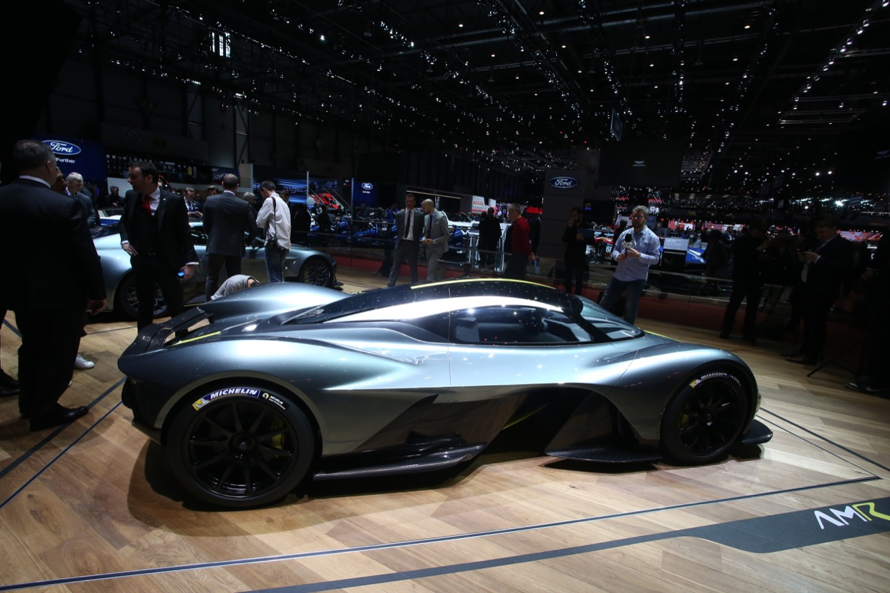 Aston Martin Valkyrie - Salone di Ginevra 2017