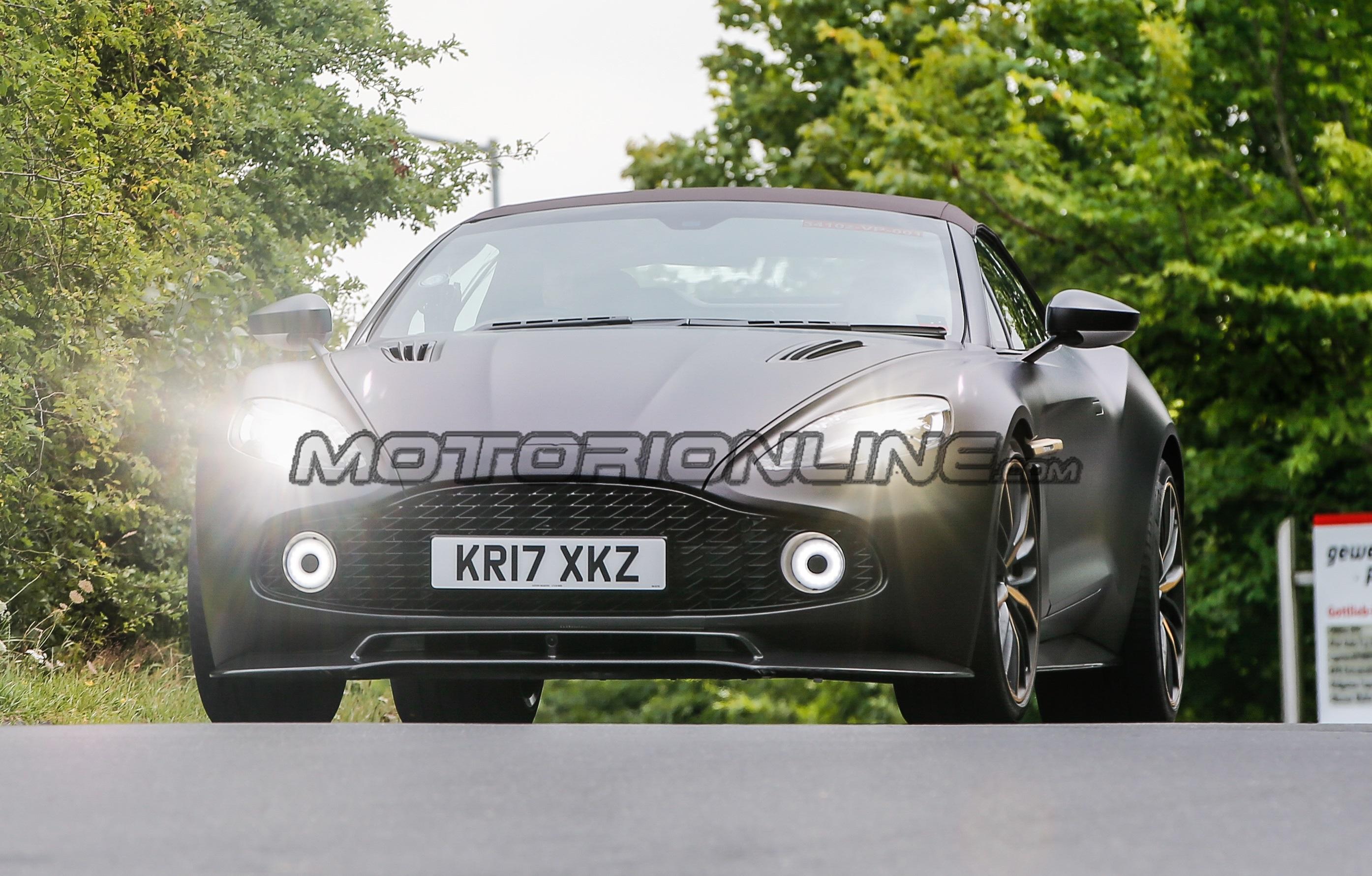 Aston Martin Vanquish Zagato Volante - Foto spia 28-07-2017
