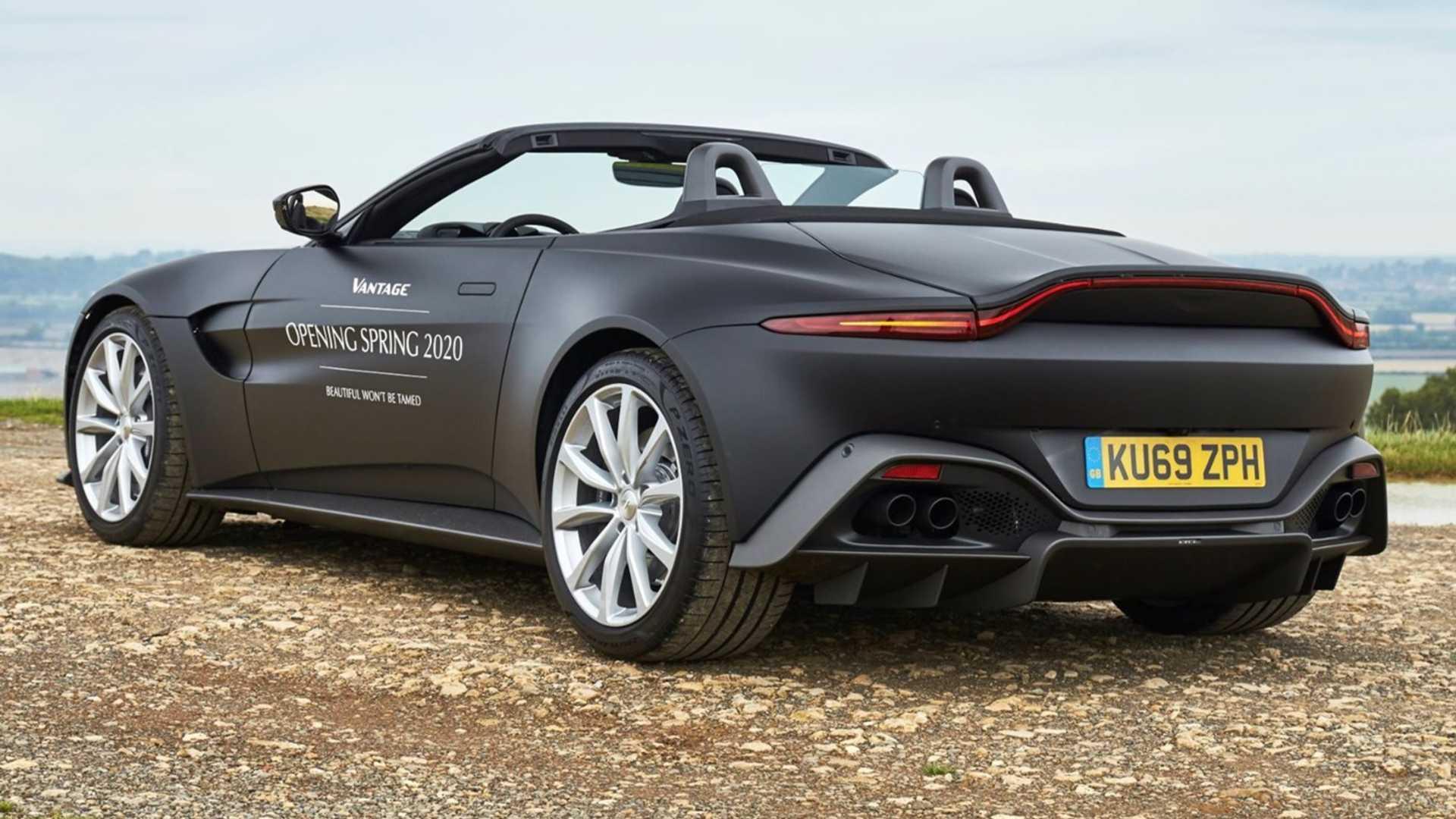 Aston Martin Vantage Roadster Prototype