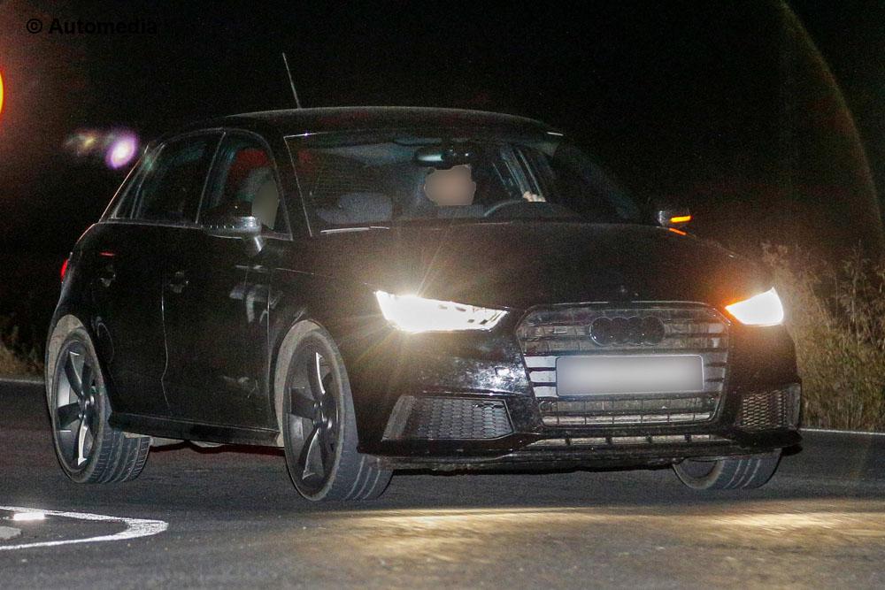 Audi A1 2014 - Foto spia 27-11-2013 (Foto 1 di 5)