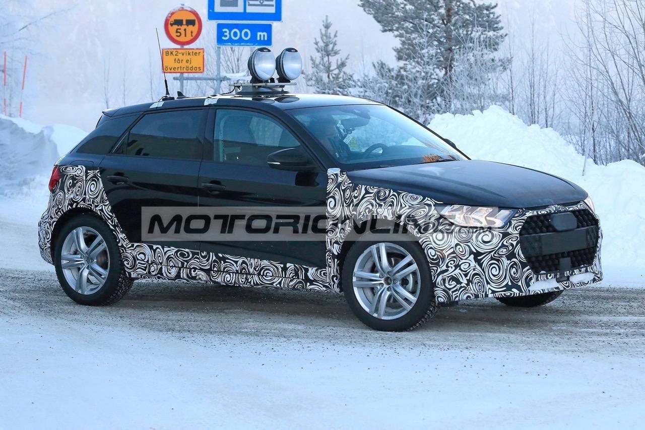 Audi A1 Allroad - Foto spia 17-1-2019