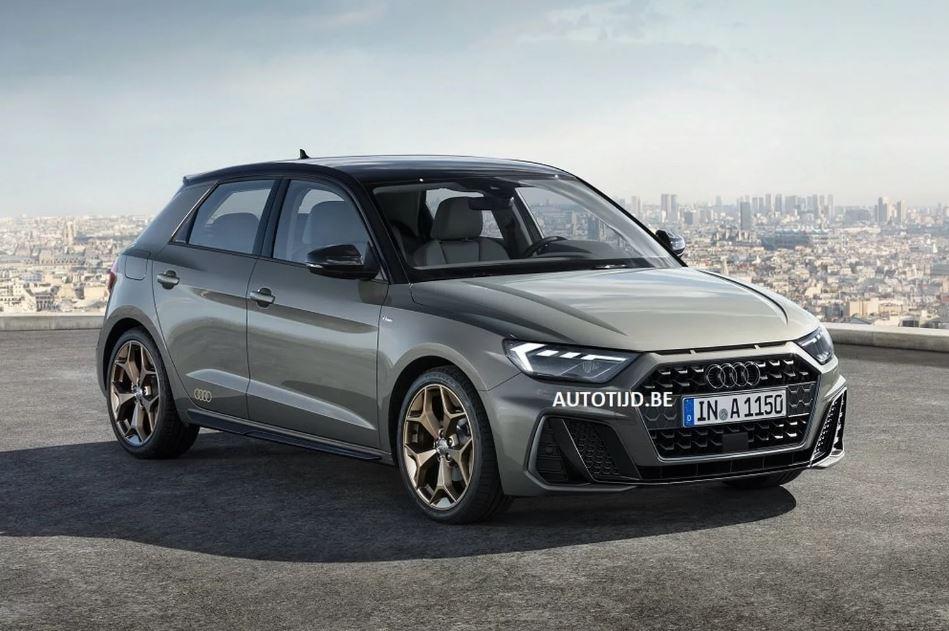 Audi A1 MY 2019 - Foto leaked