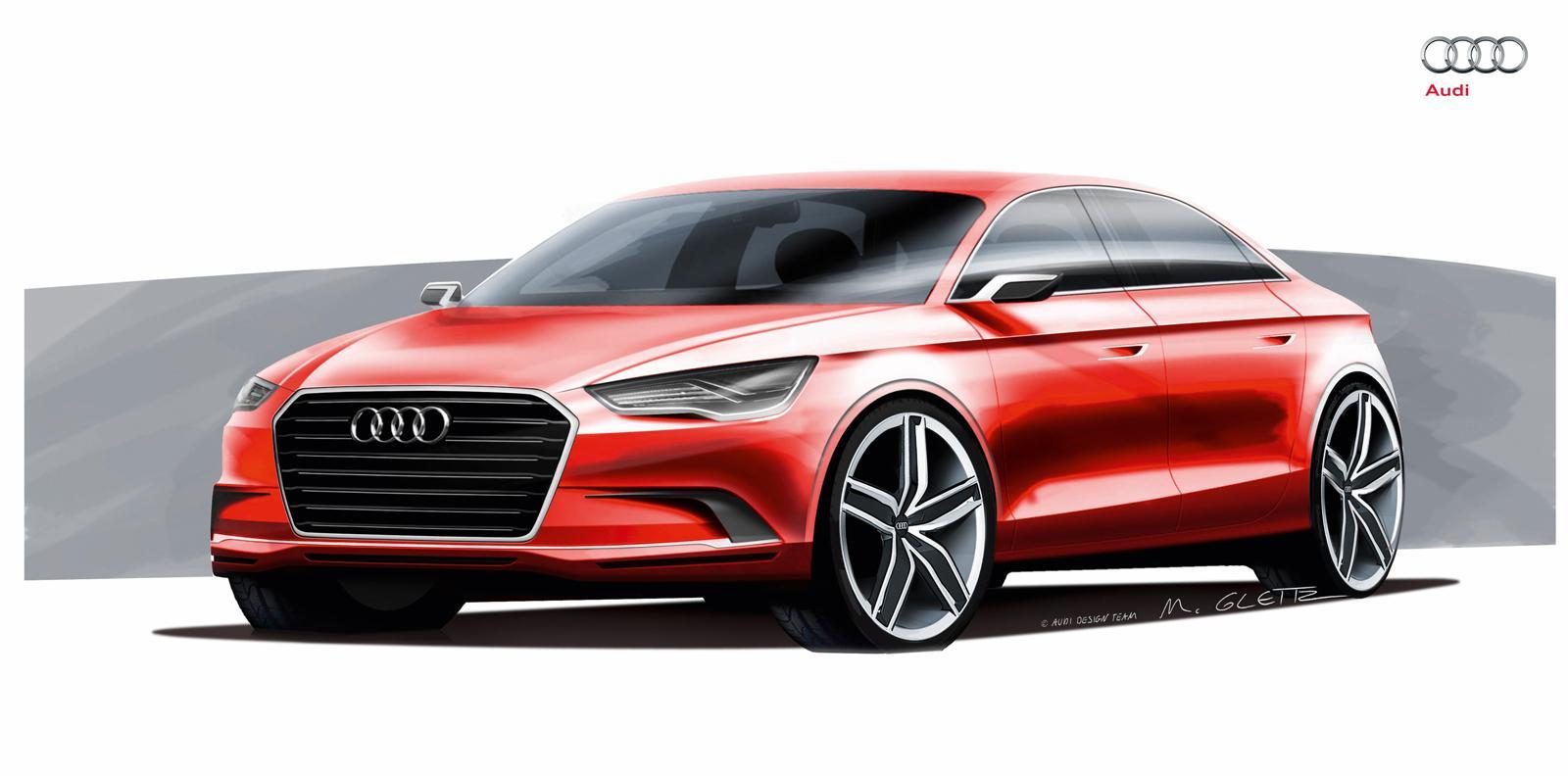 Audi A3 Concept Foto 10 Di 15
