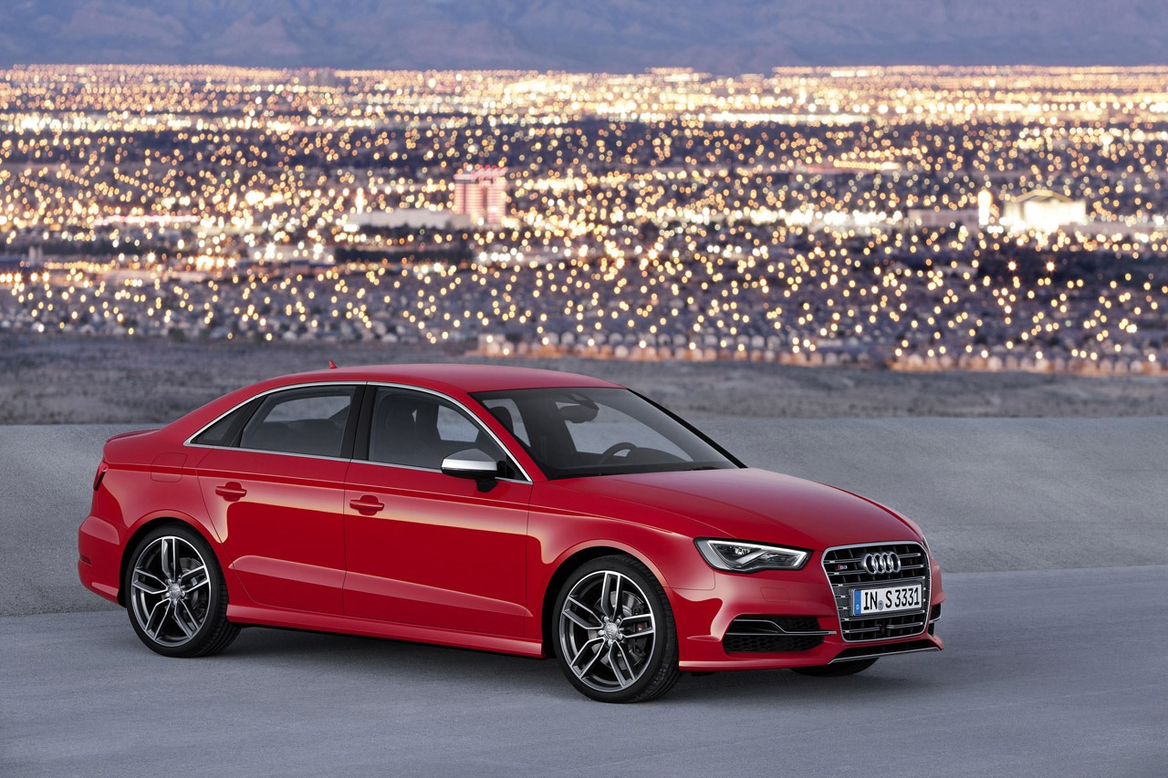 Audi A3 e S3 berlina 2013