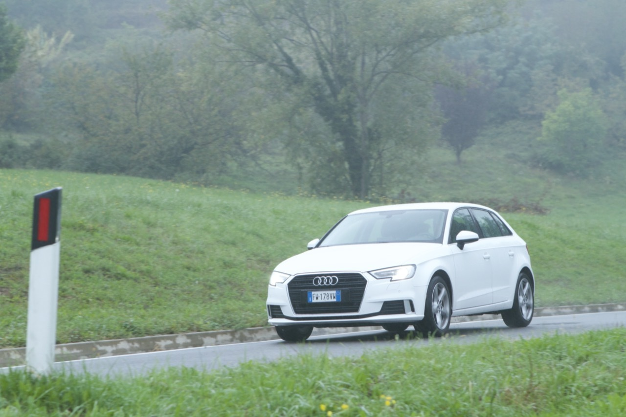 Audi A3 G-Tron 2019 - Prova su Strada