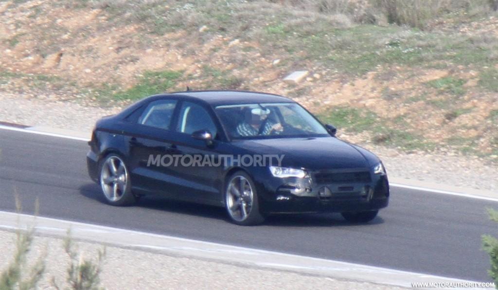 Audi A3 Sedan 2013 Foto Spia Foto 2 Di 6