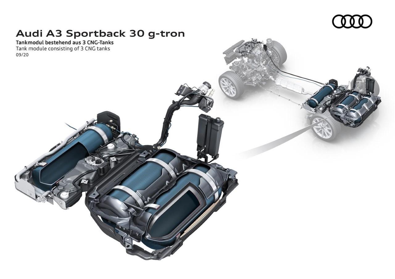 Audi A3 Sportback g-tron 2020 - Foto ufficiali