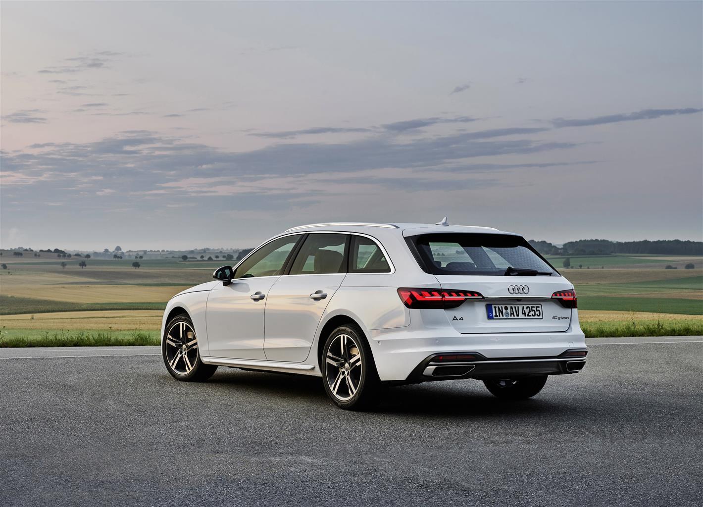 Audi A4 Avant e A5 Sportback g-tron
