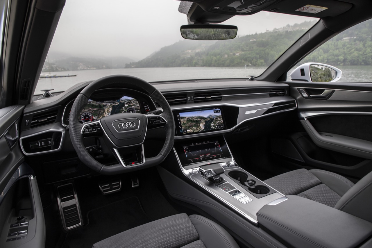 Audi A6 2018 Test Drive 6 35