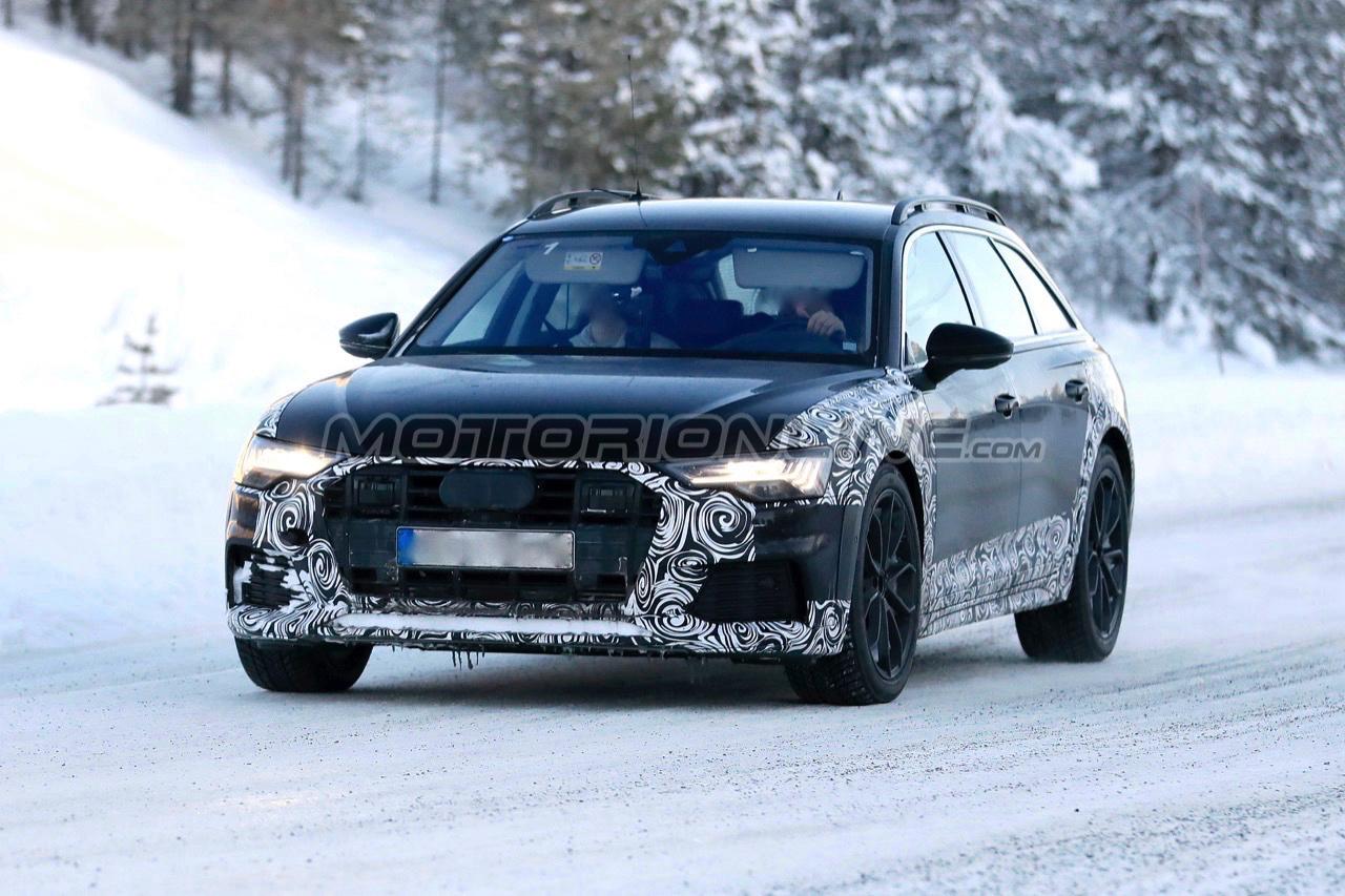 Audi A6 Allroad Quattro 2020 Foto Spia 22 01 2019 111