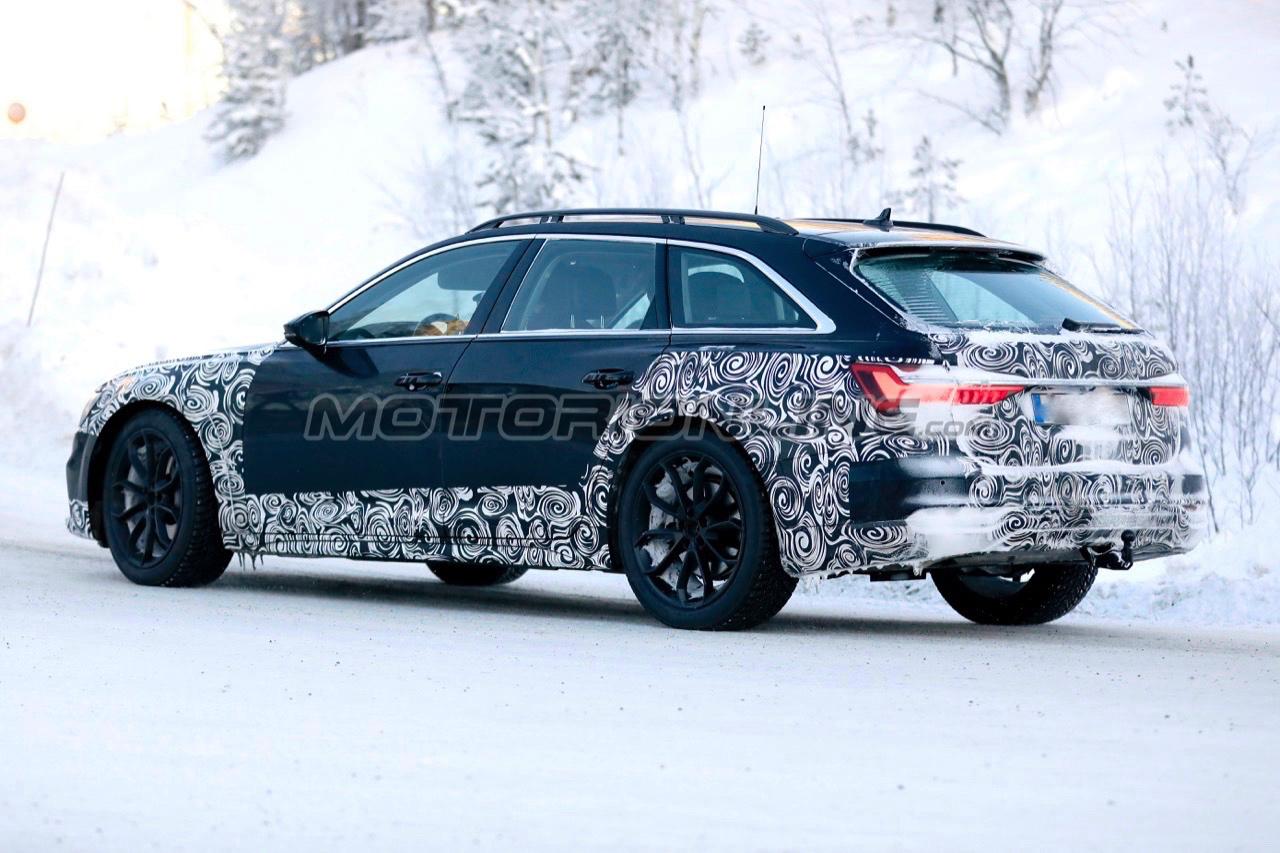 Audi A6 Allroad Quattro 2020 Foto Spia 22 01 2019 1111