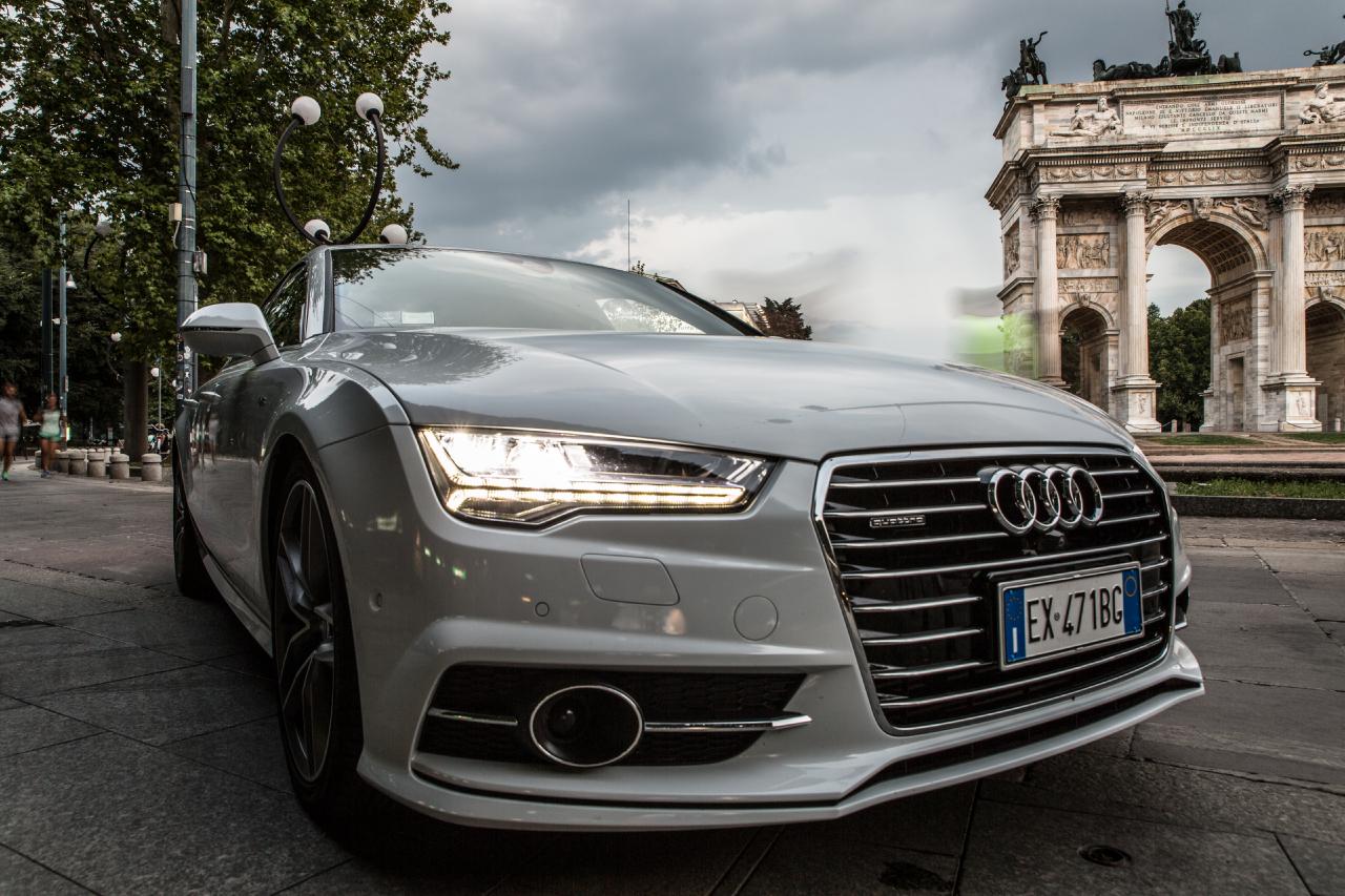 Audi A7 Prova Su Strada 2015 Foto 72 Di 124