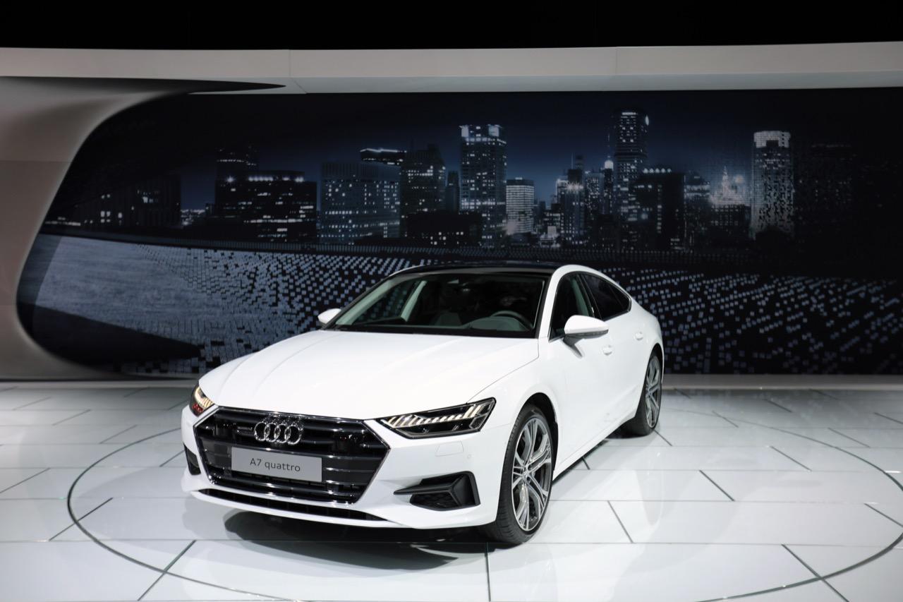 Audi A7 Quattro - Salone di Detroit 2018