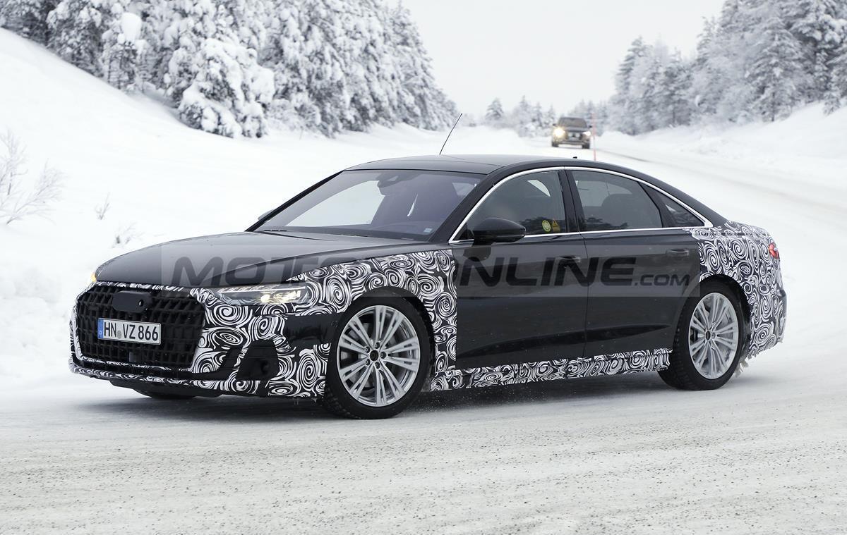 Audi A8 2022 - Foto spia 29-01-2021
