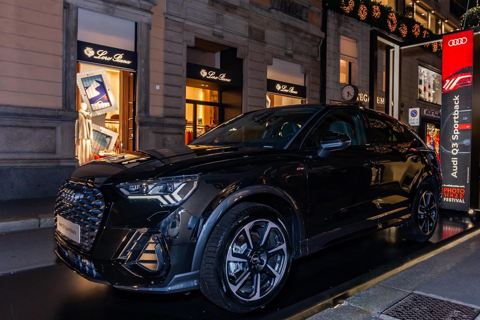 Audi Christmas Experience - Via Montenapoleone