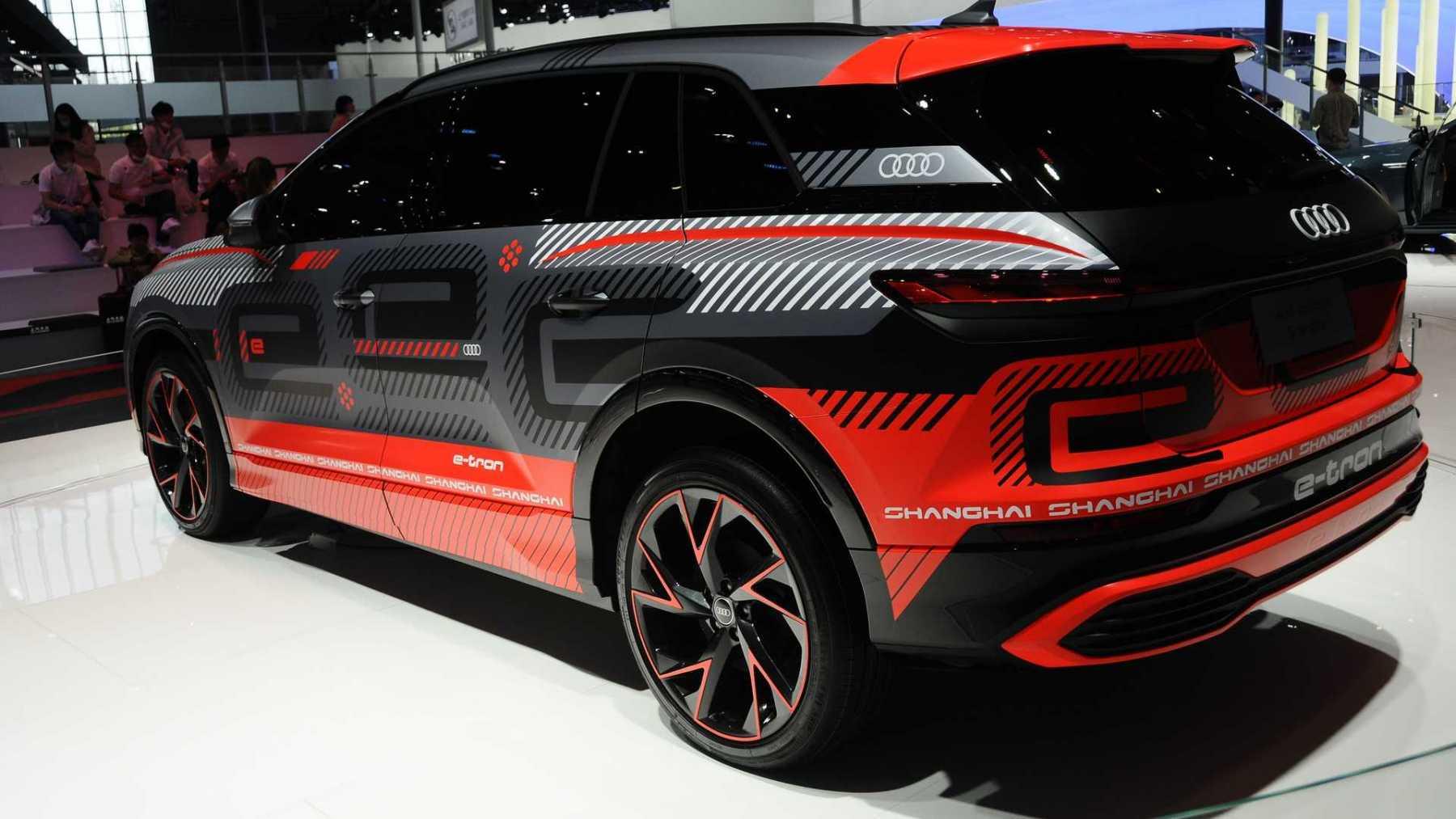 Audi concept Shanghai 2021