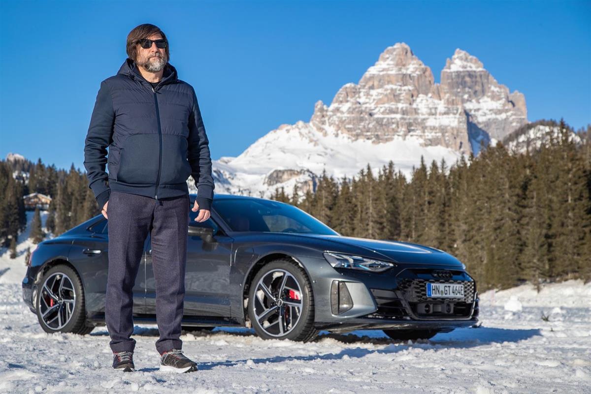 Audi e-tron GT - Anteprima Misurina