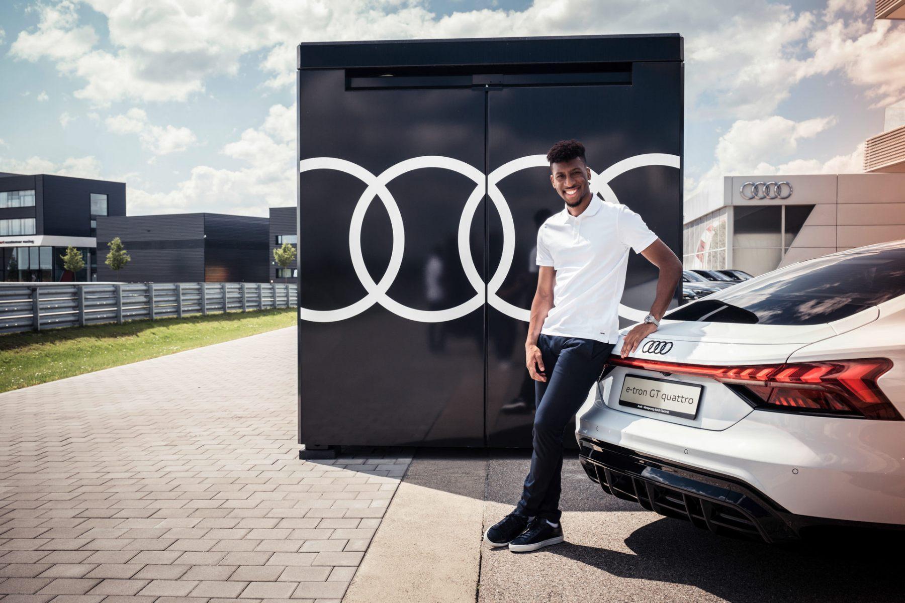 Audi e-tron GT - Bayern Monaco