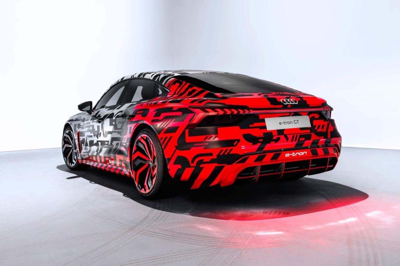 Audi e-tron GT concept - anteprima